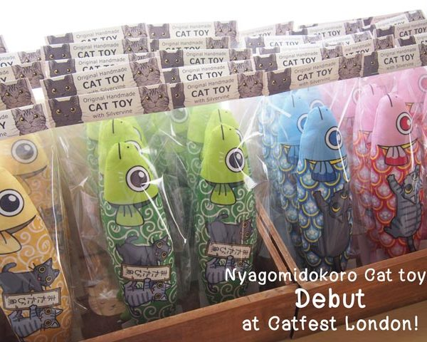 Nyagomidokoro Cat Toys Debut at Catfest London