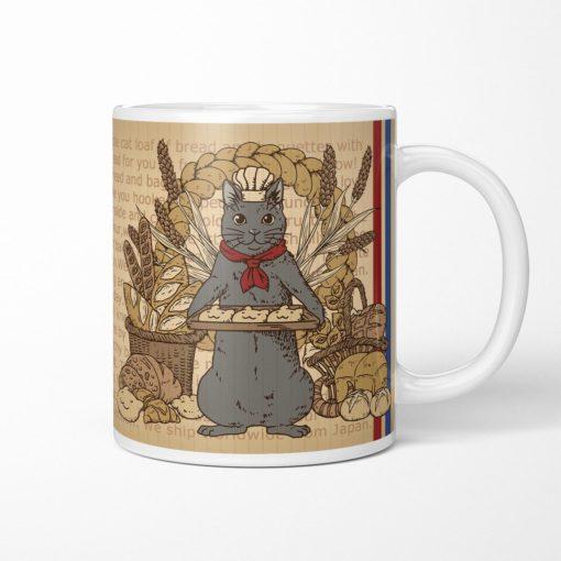 Black Cat Baker Coffee Mug