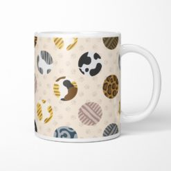Cat fur pattern coffee mug
