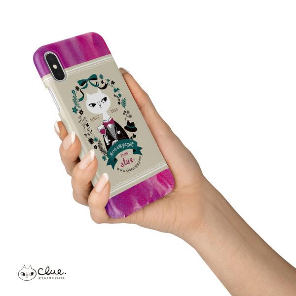 猫バーテンダー iPhone ハードケース