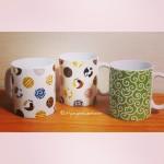 """Mug Cups """"Dot Neko"""" """"Neko-Karakusa"""""""