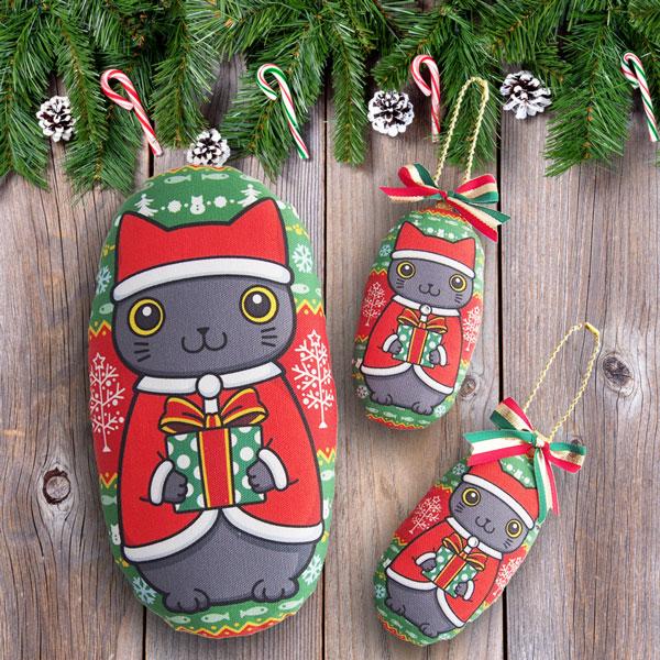 クリスマスキッカーとチャーム
