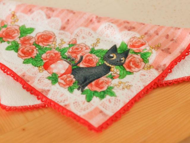 猫 ハンドタオル