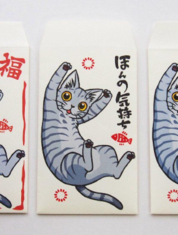猫好きさんにおすすめのお年玉袋・ポチ袋 一覧
