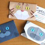猫折り紙で簡単!かわいい猫顔のポチ袋の作り方 動画あり