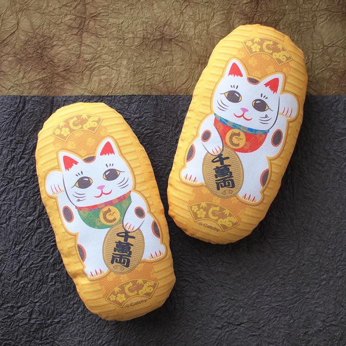 またたびのおもちゃ猫キッカー 招き猫