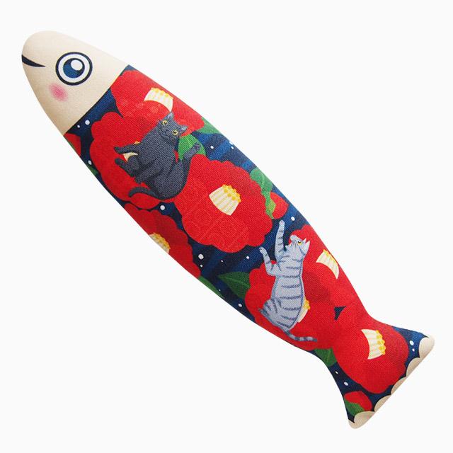 またたびのおもちゃ お魚猫キッカー つばき